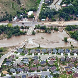 Mainers describe wet chaos in Colorado