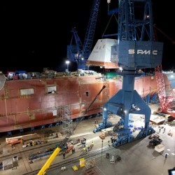 New $32 million outfitting hall at Bath Iron Works granted site plan approval