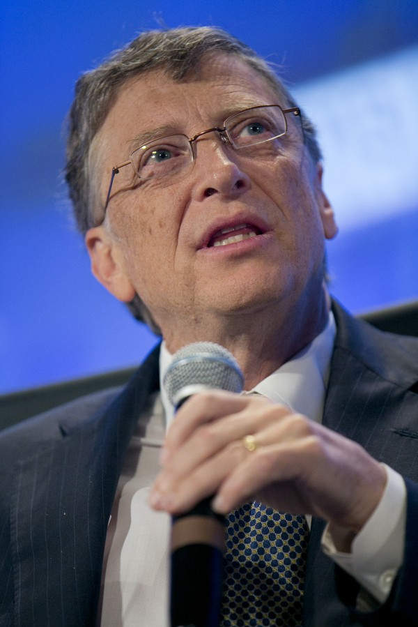 Microsoft Chairman Bill Gates, shown during the 2013 Fiscal Summit in Washington, on May 7.