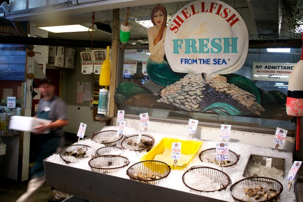 The Alfiero brothers have operated Harbor Fish Market on Custom House Wharf in Portland since 1964.