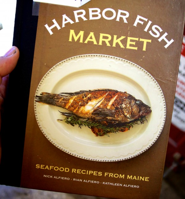 The Alfiero family, which runs Harbor Fish Market in Portland, recently published a book of recipes.