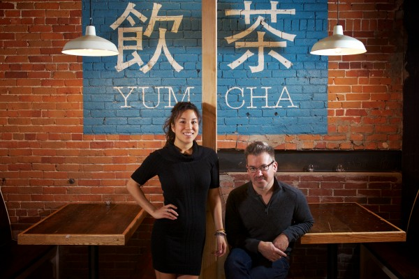 Theresa Chan and Todd Bernard will re-open the Empire Portland this week as a dim sum restaurant. Yum cha, in Cantonese, literally means &quotdrink tea&quot but it also means dim sum or &quothave a little to eat.&quot Troy R. Bennett | BDN