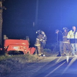 Carmel woman injured in rollover accident