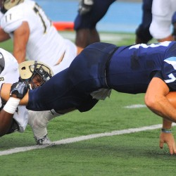 University of Maine football team sticks together in win at William & Mary