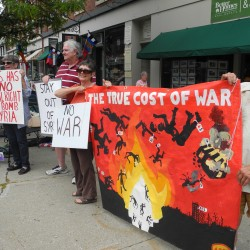 Bangor Peace Vigil Calls for No War on Syria