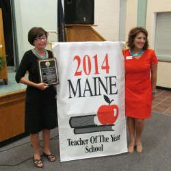 Poland woman named Maine's Teacher of the Year