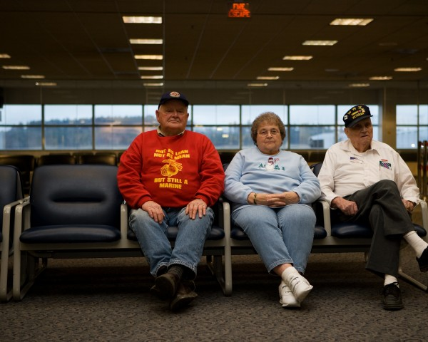 """The Way We Get By,&quot a documentary about the troop greeters at Bangor International Airport was filmed in the city from 2004 to 2009."