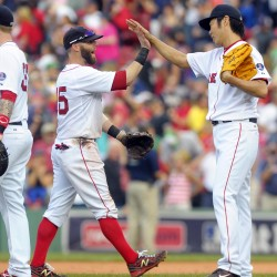 Boston's Peavy shuts down former team in 7-2 victory