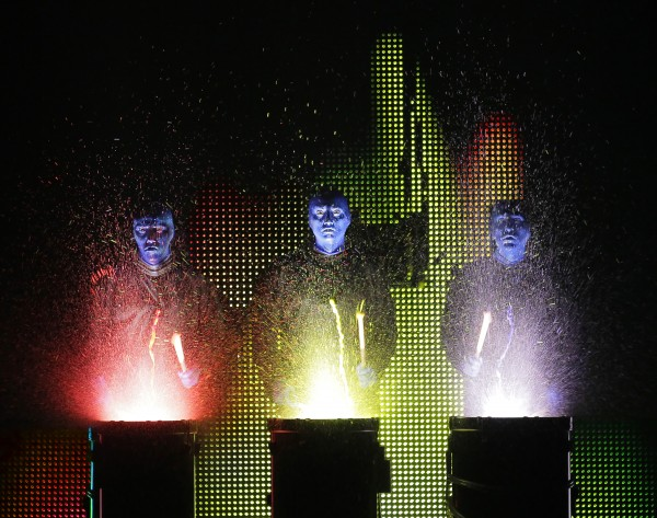 Blue Man Group comes to Portland and Bangor next month.