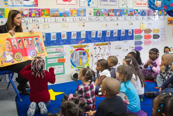 The Campfield Head Start Center in Baltimore is a National Head Start Center of Excellence.