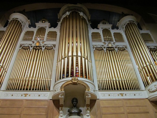 The Kotzschmar Organ was donated to the city of Portland in 1912 by the publishing magnate Cyrus H.K. Curtis and dedicated to his friend and namesake Hermann Kotzschmar, a German immigrant who settled in Portland in the mid 1900s.