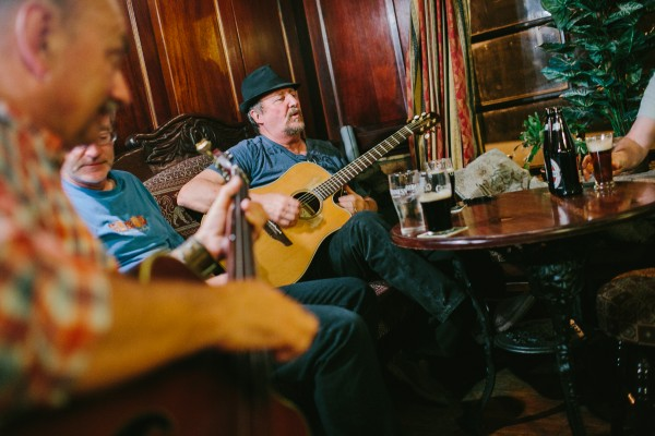 Portland photographer Emily Delamater captures the scene of live music being played in a bar in Kilkenny, Ireland, during a July trip to the country. Ireland tourism officials wanted to use her images from the trip in their promotional materials.