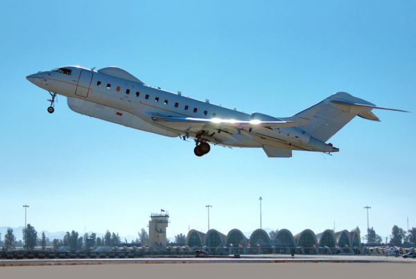 A Modified Global Express jet managed and maintained by Tempus Jets.