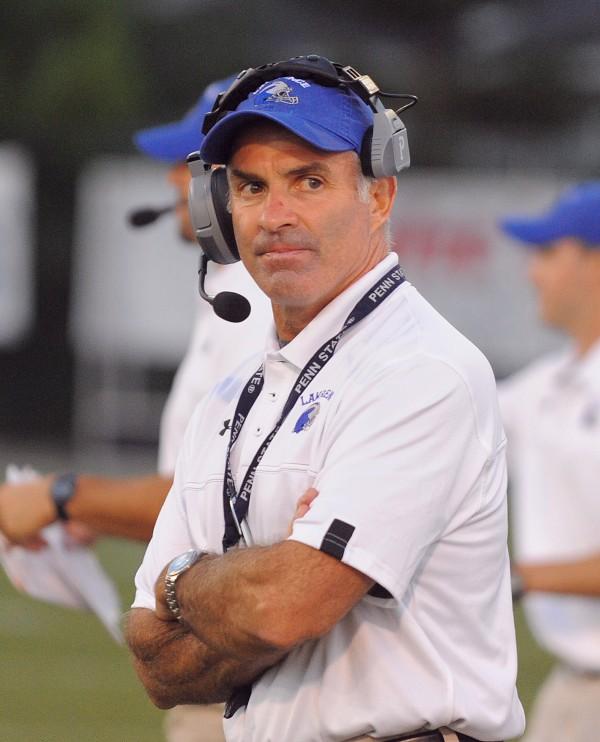 Lawrence High School football head coach John Hersom.