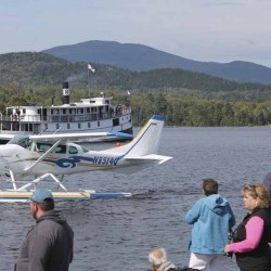 Thousands attend seaplane fly-in in Greenville, honor late founder