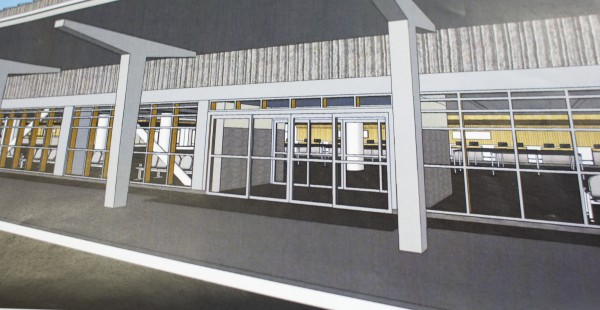Bangor City Council recently accepted $6.5 million in grants toward improvements at the Bangor International Airport. As part of the modernization efforts at the airport the car rentals will be relocated and a bank of windows will be installed to allow more light into the terminal.