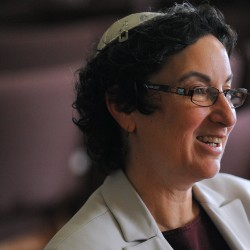 Bangor rabbi who supported same-sex marriage weds longtime partner as congregation cheers