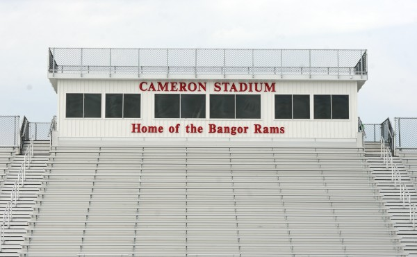 The new bleachers of Cameron Stadium are up and the stadium will be ready to use for the next Rams home game on Saturday, Sept. 21.