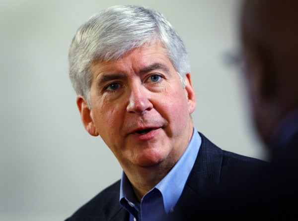 File photo of Gov. Rick Snyder, R-Mich.