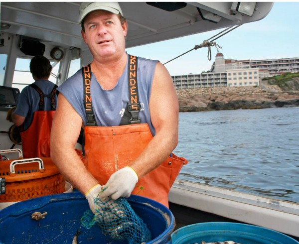 Bill McIntire, an Ogunquit fisherman lost at sea nearly a week ago, is seen here in a photograph taken by Claire Bigbee.