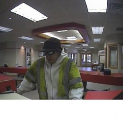 Portland police seek the public's help to identify alleged bank robber