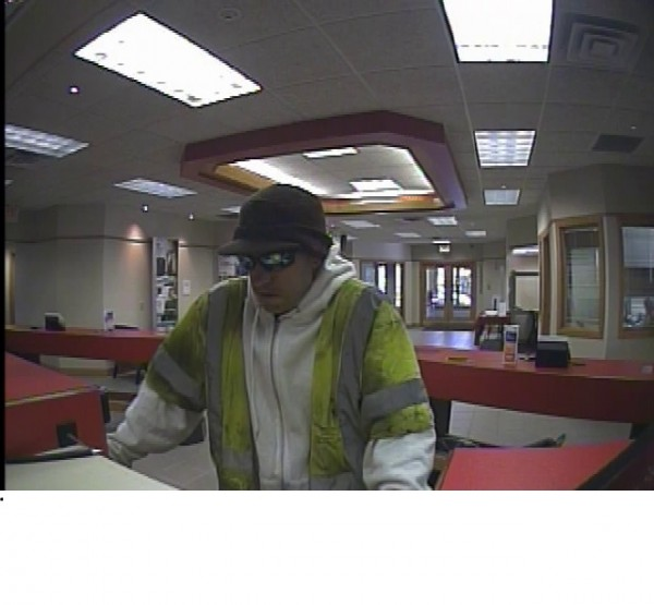 Portland police are looking for this man, who they believe was involved in a robbery of Key Bank on Forest Avenue.