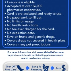 Brewer offers prescription drug cards