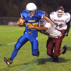 Ground game makes Brunswick formidable threat in EM Class B football ranks