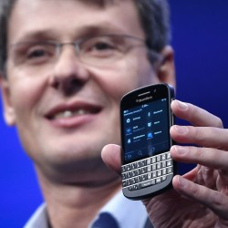 BlackBerry shares rally on AT&T launch, takeover hopes