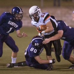 Friday night's high school football semifinal scores