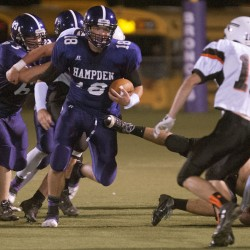 Marquis' TD in final minute lifts Hampden football team by Skowhegan