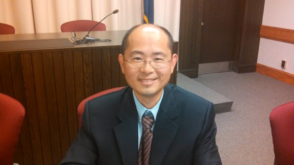 Jay Ye, candidate for Bangor School Committee.