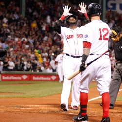 Victorino, Red Sox beat up Orioles