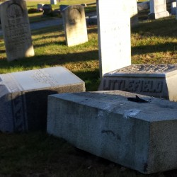 Monmouth association upset by students helping clean up cemetery
