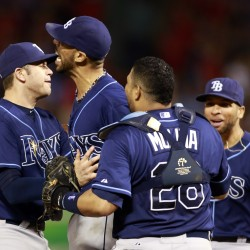Road-rampaging Rays blank Indians, reach ALDS