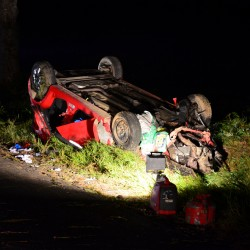 Steuben man survives 130-mph crash