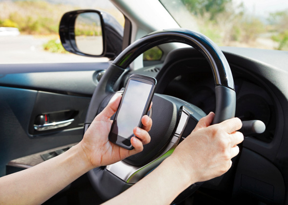 Don't do this. But don't text someone who's driving, either.