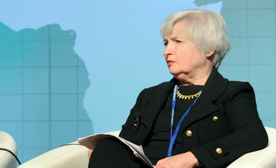Janet Yellen, currently vice chair of the Fed.