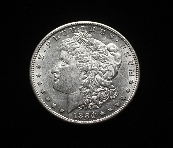 1884-S Morgan Silver Dollar in seldom seen choice condition to be sold in Thomaston Place Auction Galleries Rare Coin & Toy Auction on September 19