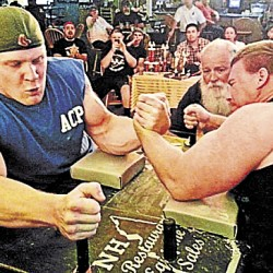 Spurred by new reality show, arm wrestling in Maine explodes in popularity