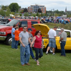 Classic cars and sunny skies draw a crowd to the Bangor Waterfront