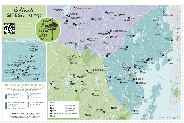 Pick up our maps for year-round, family-friendly farm and art trail tour information.