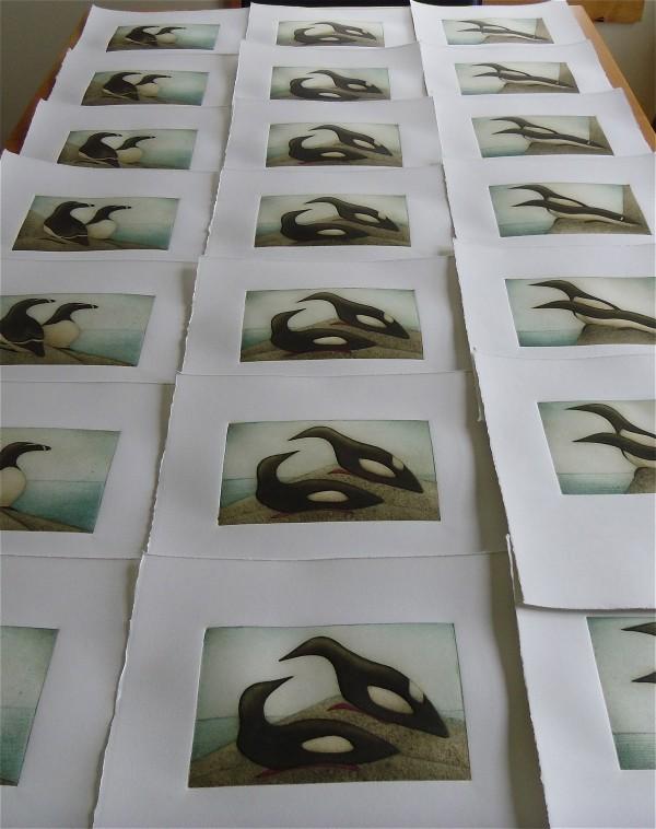 Courtesy of Kat Buchanan, printmaker and owner at Grey Seal Press.