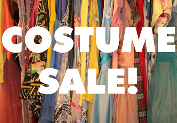 Don't miss out on The Grand's 2 day Costume Sale!