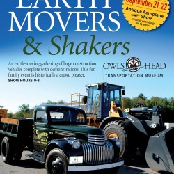 Earth Movers and Shakers event at Owls Head Transportation Museum