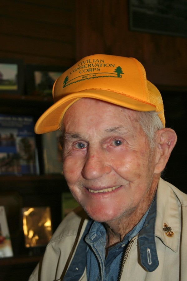 Francis Fenton wearing his CCC Reunion cap. Talbot photo