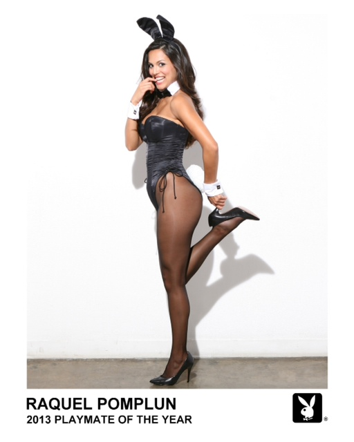 Raquel Pomplun, the 2013 Playmate of the Year, will appear at Hollywood Casino this weekend.