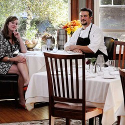 The Oxford House Inn owners Natalie and Jonathan Spak have been pleasantly surprised by the above-average summer they have had at their business this year in Fryeburg, an area that relies heavily on tourism.