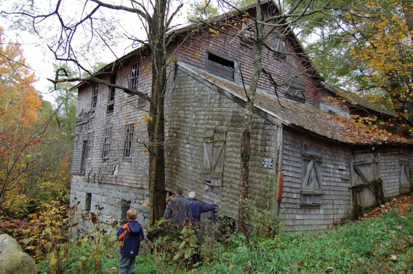 The Mill at Freedom Falls before restoration
