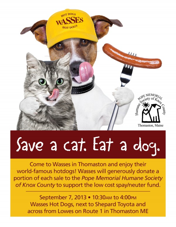 Save a Cat. Eat a Dog.